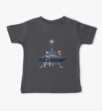 My Best Friend .. a robots tale Baby Tee