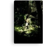 spotlighted Canvas Print