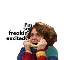 So Freakin' Excited - SNL by lettersBheather