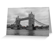 Tower Bridge - London Greeting Card