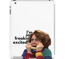 So Freakin' Excited - SNL iPad Case/Skin