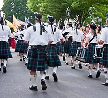 Kilts Away by phil decocco
