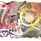 """""""Jugendstil"""" Gone Batty by Matt O'Neill"""