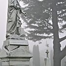 Pennsylvania Tombstone..another view. by Christopher Clark