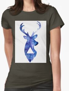 Geometric Stag Watercolour T-Shirt