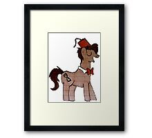 Matt Smith MLP Framed Print