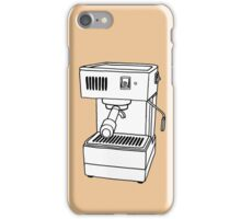 Espresso Machine Doodle iPhone Case/Skin