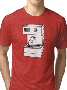 Espresso Machine Doodle Tri-blend T-Shirt