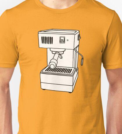 Espresso Machine Doodle Unisex T-Shirt