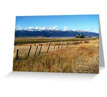 Cascade Landscape Greeting Card