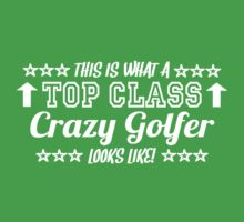 This Is What A Top Crazy Golfer Looks Like by Chimpocalypse