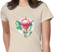 Vintage Protea Womens Fitted T-Shirt