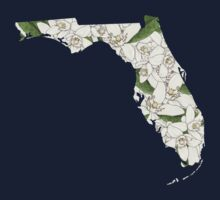 Florida Flowers One Piece - Short Sleeve