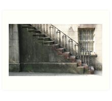 Historic Staircase Art Print