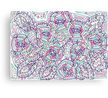 Dallying Doodle Canvas Print