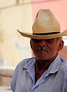 Cool Cuban man, Trinidad, Cuba by David Carton