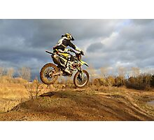 Dirt Bike Photographic Print
