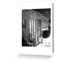 Old Miners Shack Greeting Card