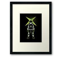 XBOX ROBOT (OC CHARACTER) Framed Print