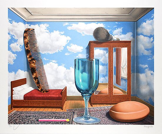 Les valeurs personelles (Personal Values), 1952 by Rene Magritte  by masterworks