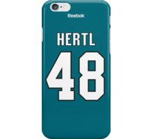 San Jose Sharks Tomáš Hertl Jersey Back Phone Case iPhone Case/Skin