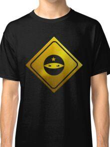 BEWARE! NINJAS AHEAD Classic T-Shirt