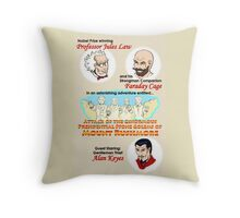 Attack of the Ginormous Presidential Stone Golems of Mount Rushmore Throw Pillow