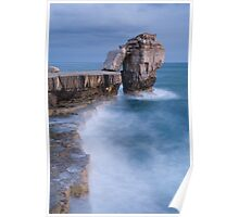 Pulpit rock  in Portland Bill, Dorset, England Poster