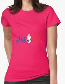 #ForeverJB17 Womens Fitted T-Shirt