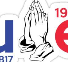 #ForeverJB17 Sticker