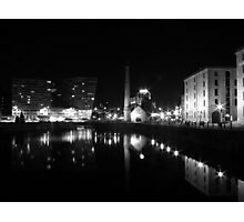 Abert dock and pump house liverpool Photographic Print