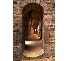 Step into the past Photographic Print