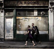 tea rooms by Tony Day