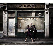 tea rooms Photographic Print