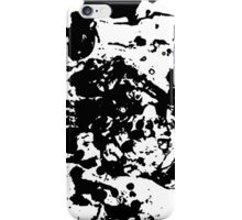 Marble - Black and White iPhone Case/Skin