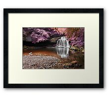 Fantasy Falls - West Burton Framed Print