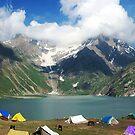 Sheshnag Lake - I by RajeevKashyap
