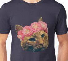 Flower Crown Clementine Unisex T-Shirt