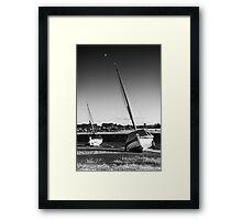 Blakeney Rest BW Framed Print