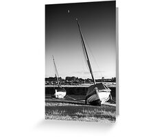 Blakeney Rest BW Greeting Card