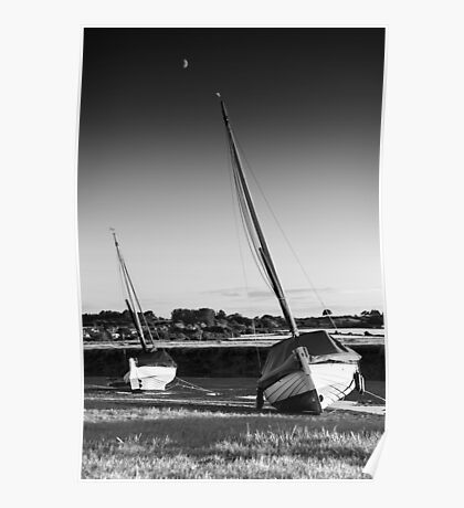 Blakeney Rest BW Poster