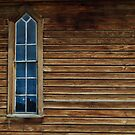 church window by Phillip M. Burrow
