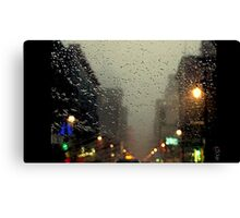 beautiful rainy day... Canvas Print
