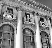U.S. Post Office and Courthouse, Oklahoma City, Oklahoma by Crystal Clyburn