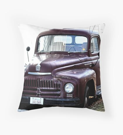 1952 International  L110 Throw Pillow