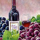 Vino by whiterabbitart