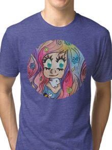 Summer's Colours Tri-blend T-Shirt