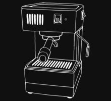 Espresso Machine  One Piece - Short Sleeve