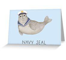 Navy Seal Greeting Card