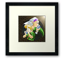 Goddess of Time Framed Print